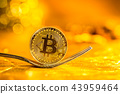 Bitcoin cryptocurreny fork concept 43959464