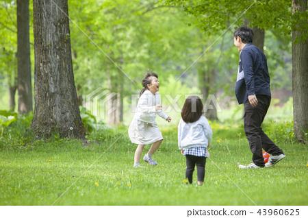 가족, 패밀리, 공원 43960625