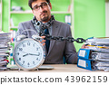 Employee chained to his desk due to workload 43962159