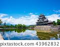 松本城 城堡 城堡塔樓 43962832