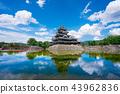 松本城 城堡 城堡塔樓 43962836