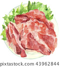 fresh meat flesh 43962844