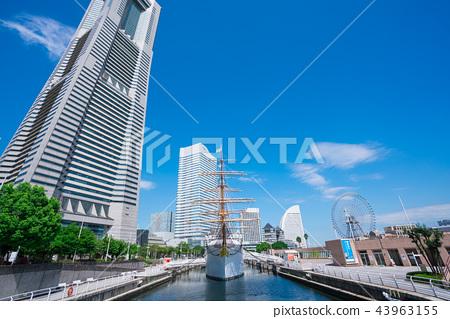요코하마 닛폰 마루와 랜드 마크 타워 43963155