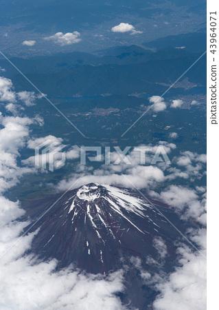 Aerial Mount Fuji 43964071
