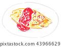 大米煎蛋 蛋包飯 番茄醬 43966629