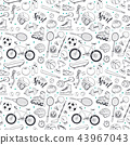 Sport Seamless Pattern 43967043