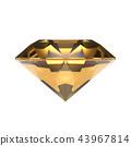 水晶(黃水晶)飾品,珠寶 43967814