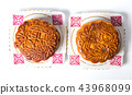 Chinese Mooncakes for Mid-autumn festival  43968099
