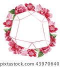 flower background frame 43970640