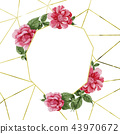flower background frame 43970672