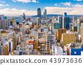 Nagoya, Japan Aerial Cityscape 43973636