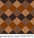 Geometric abstract knitted pattern. 43974575