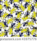 蜥蜴圖案, 43975776
