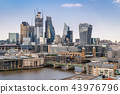 London downtown with River Thames 43976796