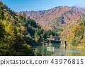 Fukushima Black Bridge Tadami River Japan 43976815