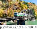 Fukushima Black Bridge Tadami River Japan 43976816