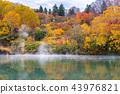 Autumn Onsen Lake Aomori Japan 43976821