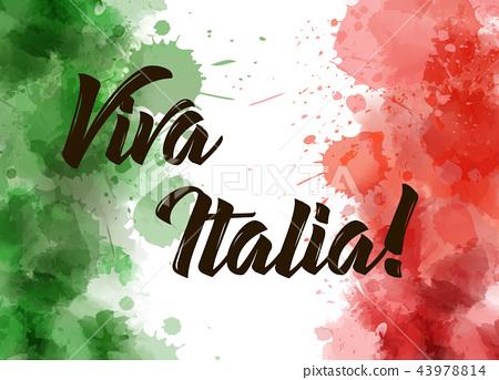 Viva Italia background 43978814