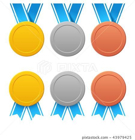three medals set 43979425
