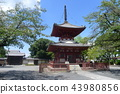 tahoto, two-storied pagoda, buddhist stupa 43980856