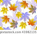 秋天 秋 无缝的 43982135