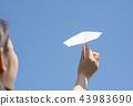 พับเครื่องบินกระดาษ,มือ,ศิลปะพับกระดาษ โอริกามิ 43983690