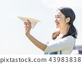 พับเครื่องบินกระดาษ,คน,ผู้คน 43983838