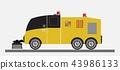 Street Sweeper Truck Vector 43986133