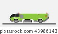 Street Sweeper Truck Vector 43986143