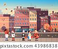 概念 城市风光 城市景观 43986838