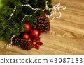 Christmas decoration and New Year 2019 43987183