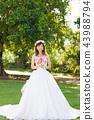 穿著婚紗的女人 43988794