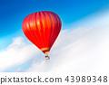 Hot Air Balloon Landing 43989348