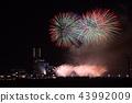 橫濱 地標大廈 煙花 43992009