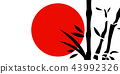 Traditional Japanese painting 43992326