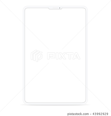vecter design new digital tablet simple style 43992929