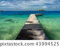 polynesia, blue, lagoon 43994525