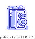 camera, vintage, icon 43995023