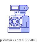 camera, flash, vintage 43995043