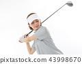 골프, 골퍼, 여성 43998670