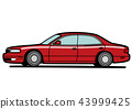 automobile car vehicle 43999425