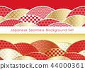 無縫日本模式背景設置 44000361