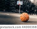 Basketball on the ground 44000368