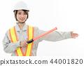 年輕女子土木工程師 44001820