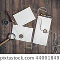 Blank paper envelopes 44001849