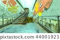 地下 樓梯 腳步 44001923