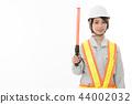 การก่อสร้าง,พื้นหลังสีขาว,นักธุรกิจ 44002032