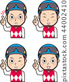 Male jockey 2 44002410