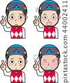 Male jockey 3 44002411