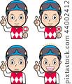 Male jockey 4 44002412